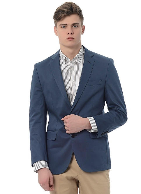 Pierre Cardin Klasik Ceket Lacivert